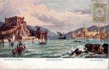 "TURQUIE : ""Dardanelles Chateau Castles Schlösser"" - Militaria Campagne Levant Croiseur Cuirassé AMIRAL CHARNERdescriptif - Turchia"