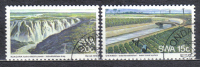 AP324 - SOUTH WEST AFRICA , Serie Yvert N. 370/371  Used - Africa Del Sud-Ovest (1923-1990)