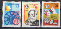 Uruguay 1976 Space 3 Stamps MNH - South America