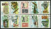CUBA - 1986 - STORIA - N. 2715 / 24 Usati - Cat. 1,50 € - Lotto N. 602 - Non Classificati