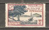 FRENCH NEW CALEDONIA 1939 - PALETUVIERS BAY 3  - MNH MINT NEUF NUEVO - New Caledonia