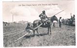 US-343  Old Time PIEGAN Squaw With Travois And Papoose - Indiens De L'Amerique Du Nord