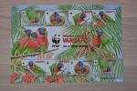 WWF ++ VANUATU 2011 PARROTS PAPEGAAI SHEET  BIRDS OISEAU VOGELS  MNH ** - Vanuatu (1980-...)