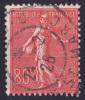 Timbre Oblitéré N° 203(Yvert) France 1924 - Semeuse Lignée - 1903-60 Sower - Ligned
