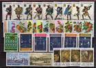 Année  1973.  33 T-p Neufs **.  Cote10.20 € (serie Fruits & Tableaux De Gentile Fabriano,etc). Manque # 835 - Saint-Marin