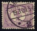 Netherlands #55 Numeral, Used (0.20) - Period 1891-1948 (Wilhelmina)