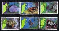 BELIZE  1982  Marine Life Sc 646-651  CTO - Belize (1973-...)