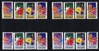 COOK ISLANDS 1979  Xmas Regular, Semi-postal, Air Mail And Air Semi-postal Sets MNH ** - Cook Islands
