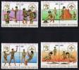 COOK ISLANDS 1983  Scouts  Sc 700-3  ** MNH - Islas Cook