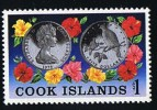 COOK ISLANDS  1978  Siver Coin Sc 502 ** MNH - Cook Islands