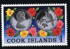 COOK ISLANDS  1978  Siver Coin Sc 502 ** MNH - Islas Cook