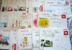 CHINA  Afgestempelde Enveloppen X100.gratis Verzending - 1949 - ... Repubblica Popolare