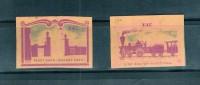 Match Box Labels   (A20) - Andere Sammlungen