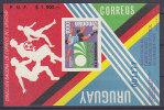 Uruguay, Nr 1304 SB (*), Michel = ?? Euro (XX16820) - Fußball-Weltmeisterschaft