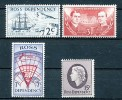 ROSS GEBIET  Mi.Nr.  5-8 Scott Niederlassung In Der Antarktis- MNH - Ross-Nebengebiet (Neuseeland)