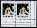 PENHRYN ISLAND   Scott #  247**  VF MINT NH Pair - Penrhyn