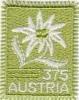 AUSTRIA - Edelweiis Flower(fabric Stamp), 3.75 Euro, Unused