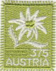 AUSTRIA - Edelweiis Flower(fabric Stamp), 3.75 Euro, Unused - 1945-.... 2nd Republic