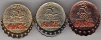 AUSTRALIA - Set 3 Pins(gold-silver-bronze), Coca Cola, Sydney 2000 Olympics, Unused