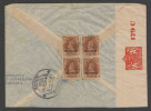 Bahrain  1940   2A  Rate  AIR MAIL  Cover To India ARRIVAL CANSOR  # 25232 - Bahreïn (1965-...)