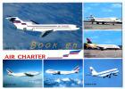 (64406) Flotte Utilisée Par Air Charter , Airbus , Boeing 727 737 747 , Super 10 ; Filiale D´ Air France Et D´ Air Inter - 1946-....: Moderne