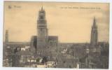 17378    Belgio,  Bruges,  Les  Trois  Tours (Beffroi,  Cathedrale  Et Eglise  N.-D.),  VGSB  1915 - Brugge