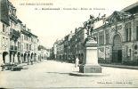 N°13578 -cpa Remiremont -grande Rue- Statue Du Volontaire- - Remiremont