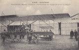 (XIV) Lyon - Aviation - PAULHAN (Biplan Farman) Vérification De L'appareil Avant Le Départ - Flugzeuge