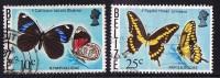 BELIZE  Butterflies  Sc 351, 354a  Used - Belize (1973-...)
