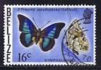 BELIZE  Butterflies  Sc 353  Used - Belize (1973-...)