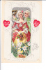 Embossed Couple To My Valentine A Gift Of Love - Valentinstag