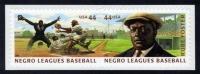 US #4466a Negro Leagues Baseball (4465-4466), MNH (1.80) - Unused Stamps