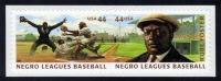 US #4466a Negro Leagues Baseball (4465-4466), MNH (1.80) - United States