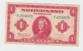 Netherlands 1 Gulden 1943 XF P 64 - [2] 1815-… : Koninkrijk Der Verenigde Nederlanden