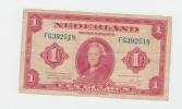 Netherlands 1 Gulden 1943 AVF P 64 - 1 Gulden