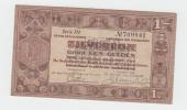 Netherlands 1 Gulden Zilverbon 1938 VF++ CRISP Banknote - [2] 1815-… : Regno Dei Paesi Bassi