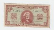 Netherlands 1 Gulden 1945 VF P 70 - 1 Gulden