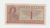 NETHERLANDS 1 GULDEN 1949 VF+ P 72 - [2] 1815-… : Koninkrijk Der Verenigde Nederlanden