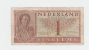 NETHERLANDS 1 GULDEN 1949 VF P 72 - [2] 1815-… : Kingdom Of The Netherlands