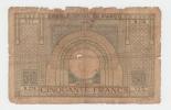"Morocco 50 Francs 5-5-1938 ""G-VG"" RARE Banknote P 21 - Morocco"