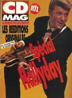 "Johnny Hallyday  ""  CD Mag  "" - Music"