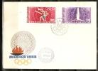 VAR91 - UNGHERIA - Fdc 1968 - Olimpiadi Mexiko 1968 Lotta Ginnastica - Lotta