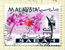 Malaya Sabah 1965 Flowers 6c Definitive, Fine Used - Sabah
