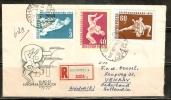 VAR100 - UNGHERIA - Busta El 1958 - Vilagbajnoksag 58 - Ungheria