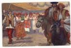 EICHHNEN  ?  Vienne 1908.Kaiser-Jubil- Huldigungsfestzug . Nationalitatengruppe. Galizien - Altre Illustrazioni