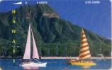 HAW-21-1992-DIAMONT HEAD-SAILBOATS-MINT-TIR.4.000 - Hawaii