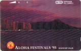 HAW-40-1993-DIAMOND HEAD AT NIGHT-MINT-TIR.2.500 - Hawaii