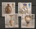 UK - 1987 POTTERY -  SG 1371/4 - Yvert 1284/7 - USED - 1952-.... (Elizabeth II)