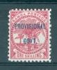 Samoa: 1899/1900   Samoa Post ´Provisional Govt´ OVPT     SG96      1/-           MH - Samoa
