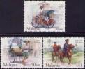 Malaysia 2004 S#985-987 Traditional Transportation MNH - Malesia (1964-...)